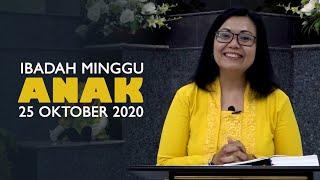Ibadah Minggu 25 Oktober 2020 untuk Anak-anak