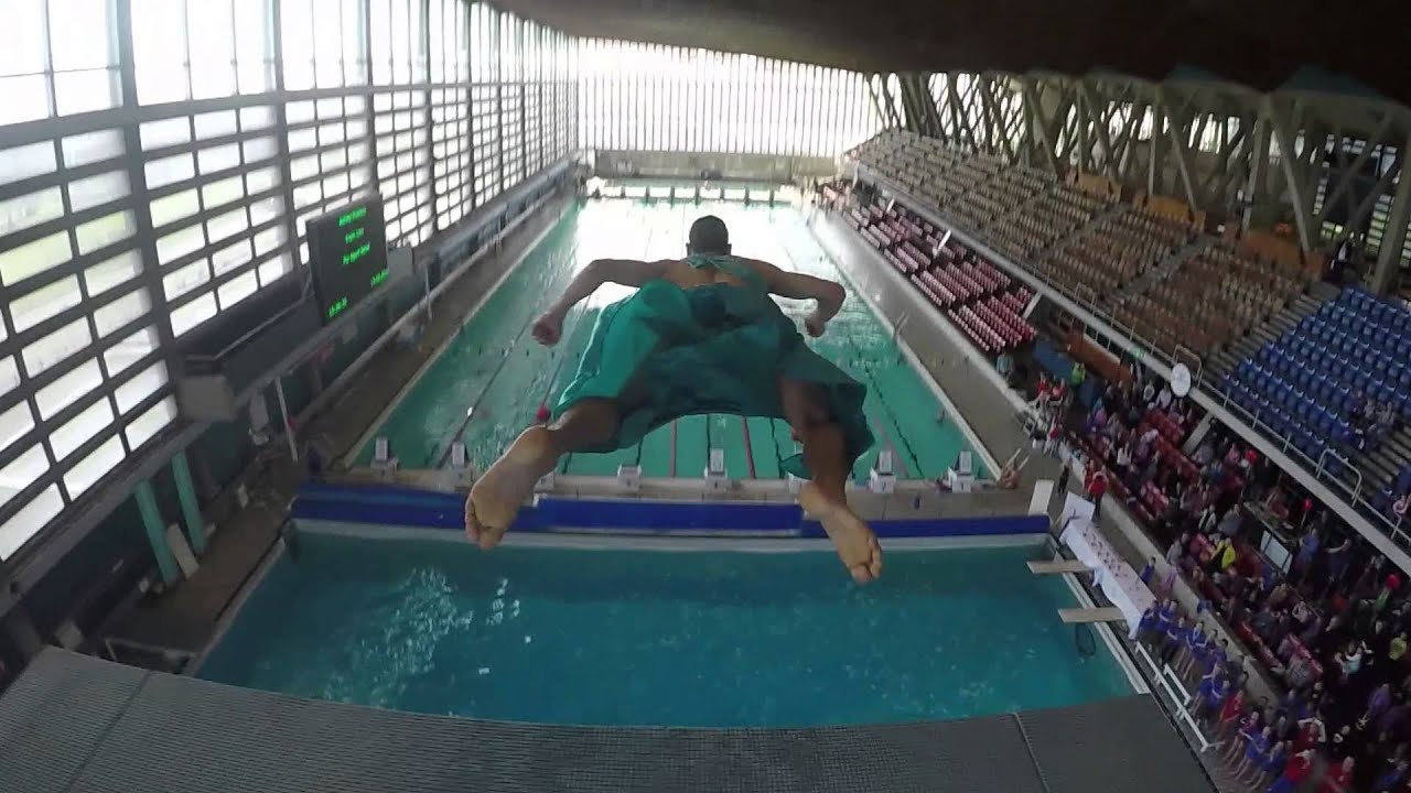 Captivating Sport Relief 2016   Crystal Palace Diving