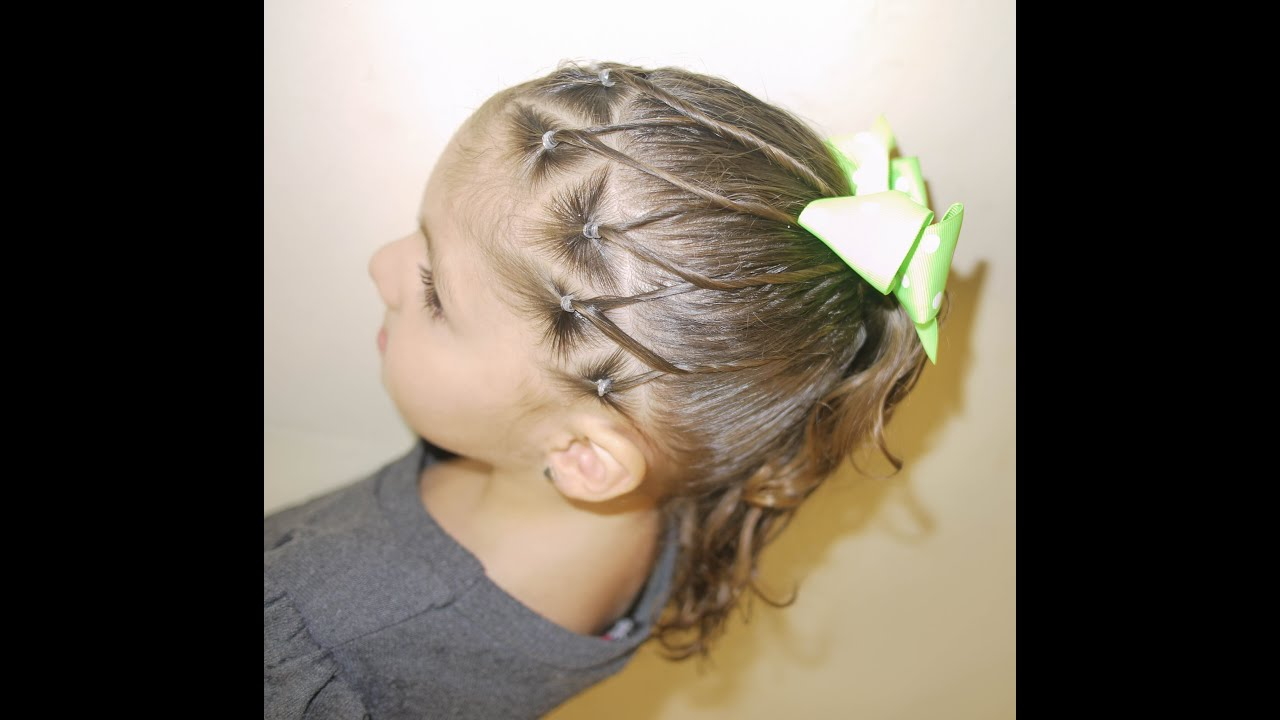 Peinado para ni a easy ponytail for girls youtube - Peinados para ninas ...