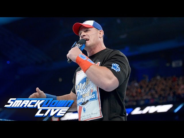 John Cena returns with a huge Royal Rumble challenge: SmackDown LIVE Wild Card Finals, Dec. 27, 2016
