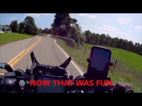 Fast ride down Ohio back roads