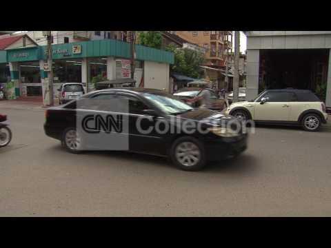 PHNOM PENH CAMBODIA STREET SCENES
