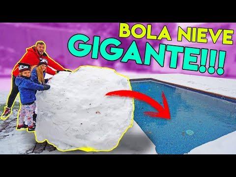 LA BOLA DE NIEVE MAS GRANDE DENTRO DEL AGUA!!!ItarteVlogs