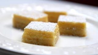 How To Make Meyer Lemon Bars - Creamy Lemon Bars Recipe
