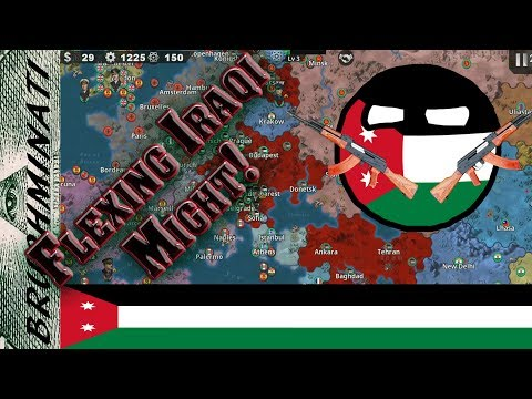 World Conqueror 4 Patriotic War Mod | Iraq 1939 #1; Terrorist Generals Take On The Axis!