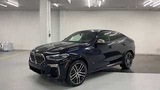 2020 BMW X6 M50i - Revs + Walkaround in 4k