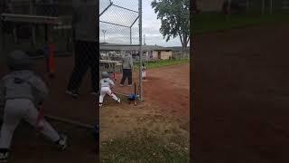 Wafi playing baseball(2)