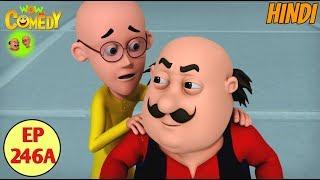 Motu Patlu in Hindi | 3D Animated Cartoon Series for Kids | John Shrinks Motu Patlu
