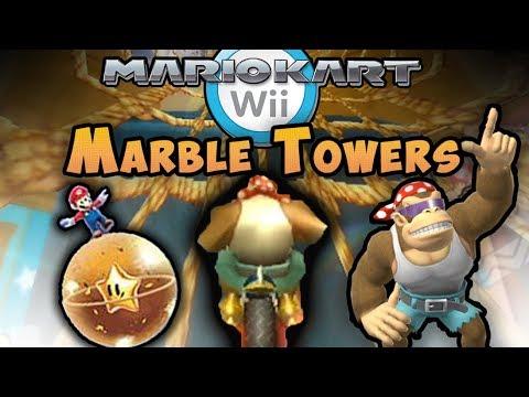 Mario Kart Wii Custom Track: Troy vs Marble Towers