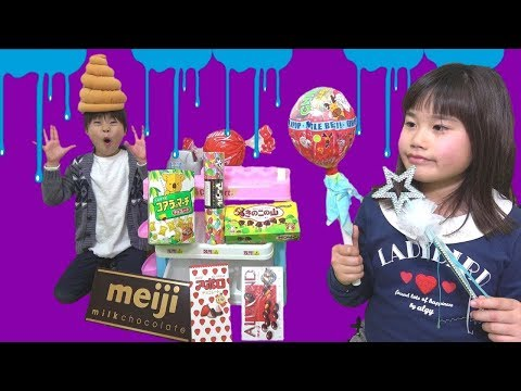 Witch & Candy Shop! Great Failure! Transform! Pretend Play Kids Line