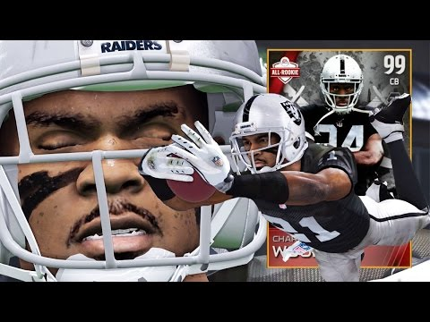 Madden 15 Ultimate Team Gameplay - 99 Charles Woodson Playing Wide Receiver! TD