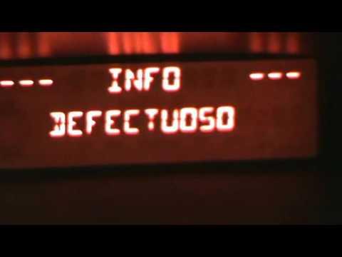 Citroen C3. Varios códigos de error de la ECU, P0104, P1351, P0405 y P0185. Video 25 de 27.
