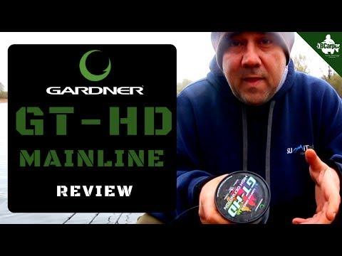 REAL FISHING TACKLE REVIEWS GARDNER TACKLE GT HD MAINLINE