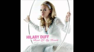 Hilary Duff - Beat Of My Heart Karaoke / Instrumental with backing vocals and lyrics