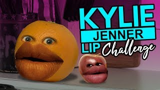 Annoying Orange - Kylie Jenner Lips Challenge