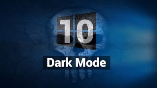 How to Enable Dark Mode in Windows 10 (Official)