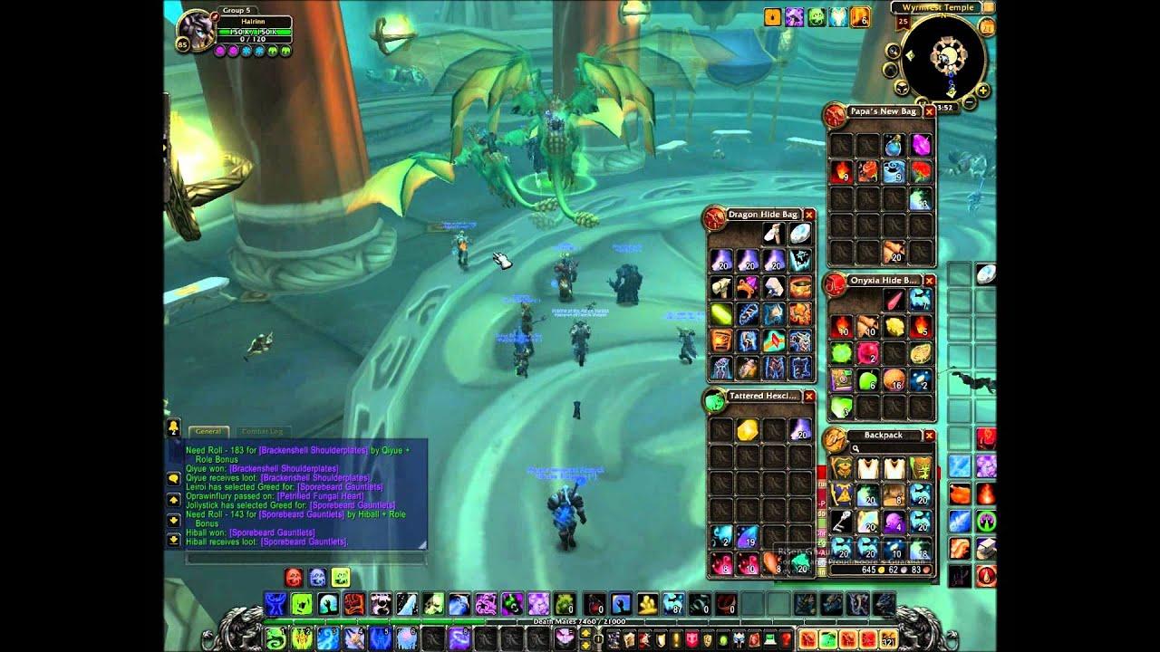 Dragon Soul Raid Location: World Of Warcraft Dragon Soul Raid Part 1