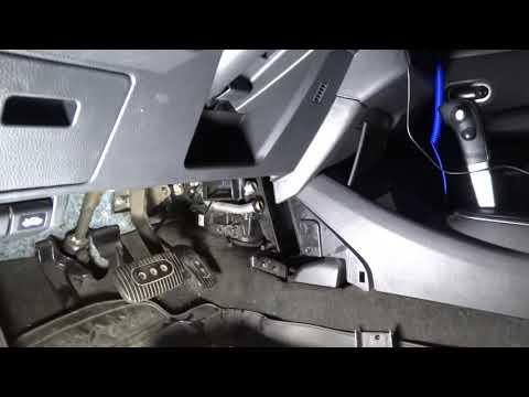 Как быстро и просто Заменить отопитель салона Nissan TIIDA
