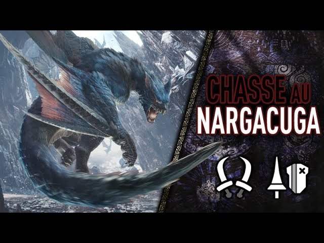 MHW Iceborne - Chasse en DUO au NARGACUGA - SANS HUD