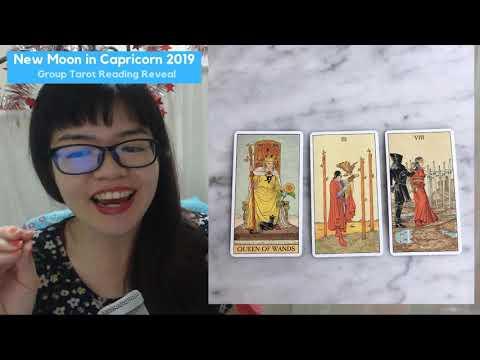 January 2019 New Moon in Capricorn reading - Tarot Singapore
