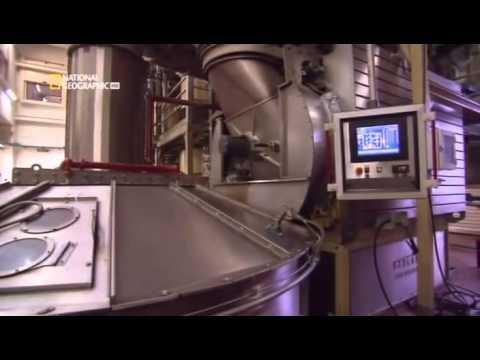 Мегафабрика по производству кофе Illy
