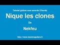 Nique les clones Nekfeu Tutoriel guitare avec accords Chords