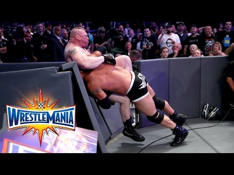 Thumbnail: Goldberg vs. Brock Lesnar - Universal Title Match: WrestleMania 33 (WWE Network Exclusive)