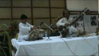Pandit Nayan Ghosh - Raga Puriya Kalyan  Vilambit Teental Gat  Part 01 of 03