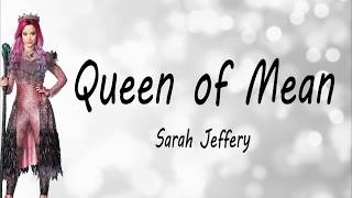 Queen of Mean _ Sarah Jeffery (lyrics & french translation)