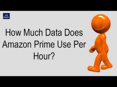How Much Data Does Amazon Prime Use Per Hour?