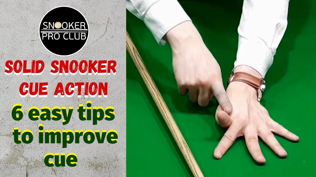 Download Snooker coaching - Solid snooker cue action (6 easy tips to improve cue action)_