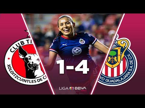 Resumen Partido | Tijuana Vs Chivas 1-4 | Liga MX Femenil | J-7 CL20