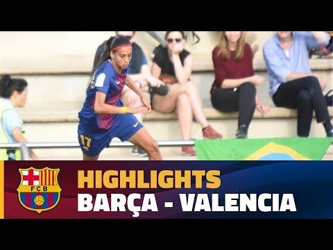 [HIGHLIGHTS] FUTBOL FEM (Liga): FC Barcelona – Valencia (2-0)