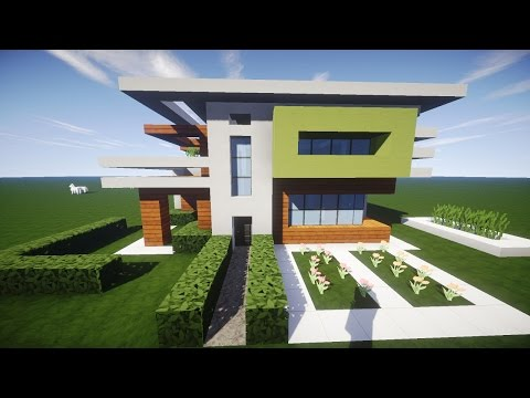 minecraft tutorial wie baue ich ein sch nes haus tei doovi. Black Bedroom Furniture Sets. Home Design Ideas