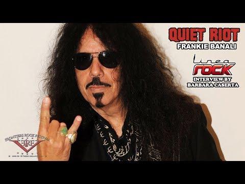 QUIET RIOT - Frankie Banali interview @Linea Rock 2018 by Barbara Caserta (Frontiers Rock Festival)
