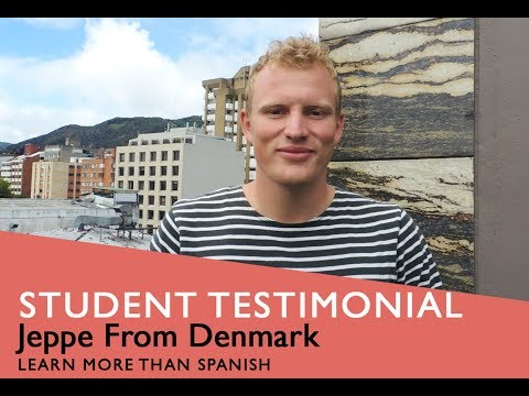 General Spanish Course Student Testimonial by Jeppe from Denmark