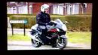 uk police using a suzuki hayabusa