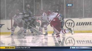 Maine vs. Boston University at Frozen Fenway Highlights - 1/11/2014