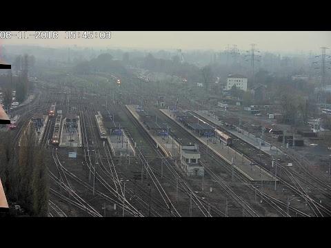 Urząd Transportu Kolejowego – transmisja na żywo - widok na Warszawę Zachodnią from YouTube