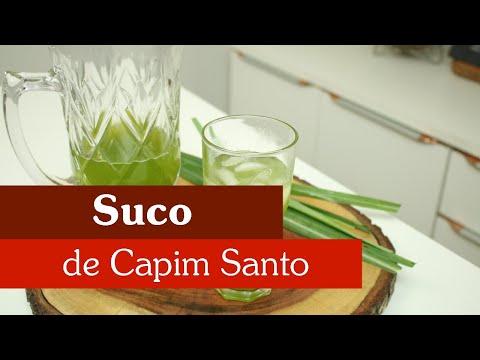 COMO FAZER SUCO DE CAPIM SANTO!?
