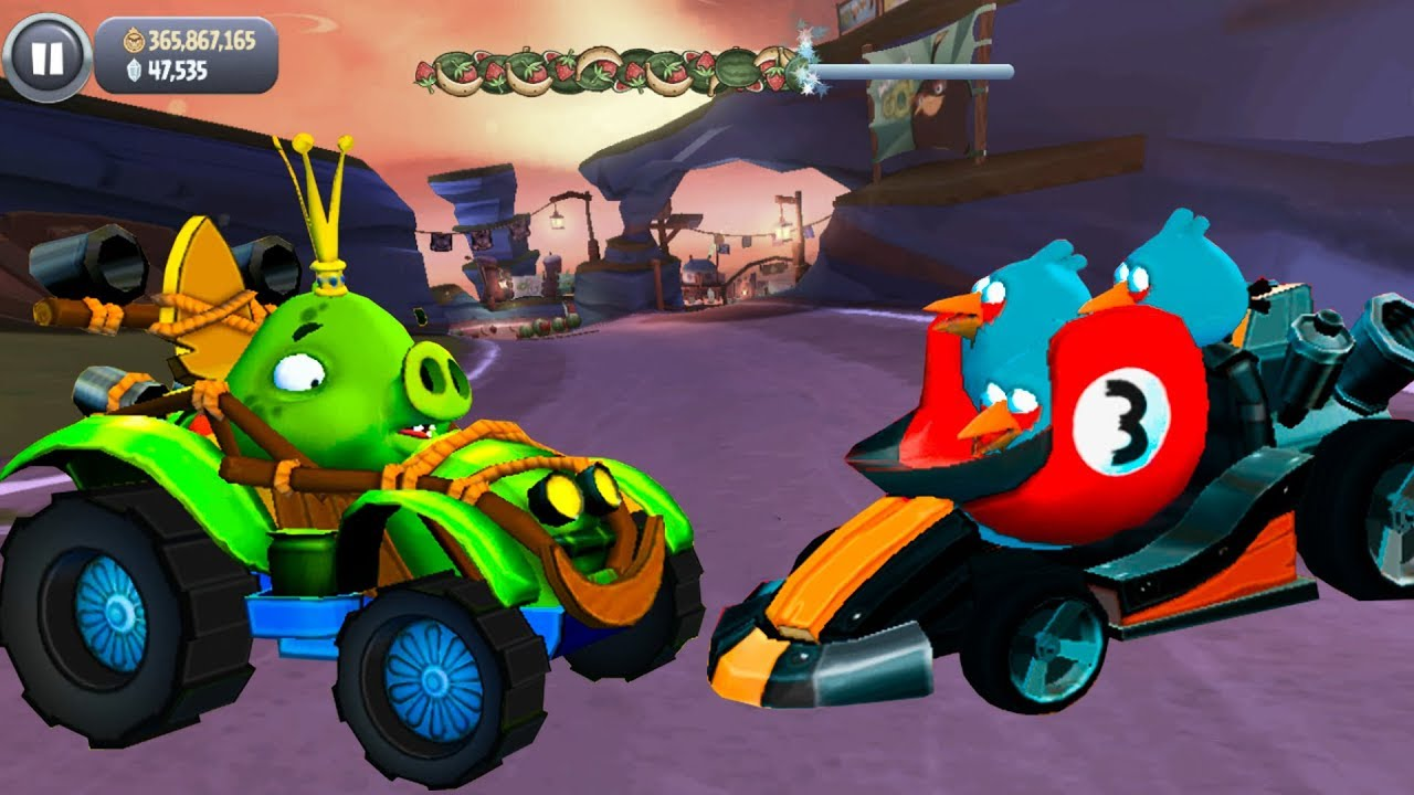 Angry Birds GO! – Road to THE BLUES and TERENCE – Gameplay ...
