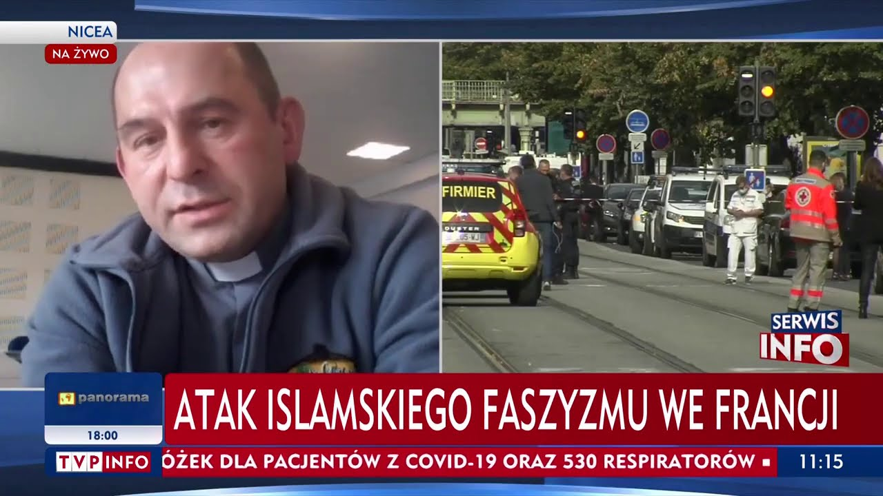 """Polski duchowny o ataku w Nicei. """"Takiego lęku jeszcze nie było"""""""