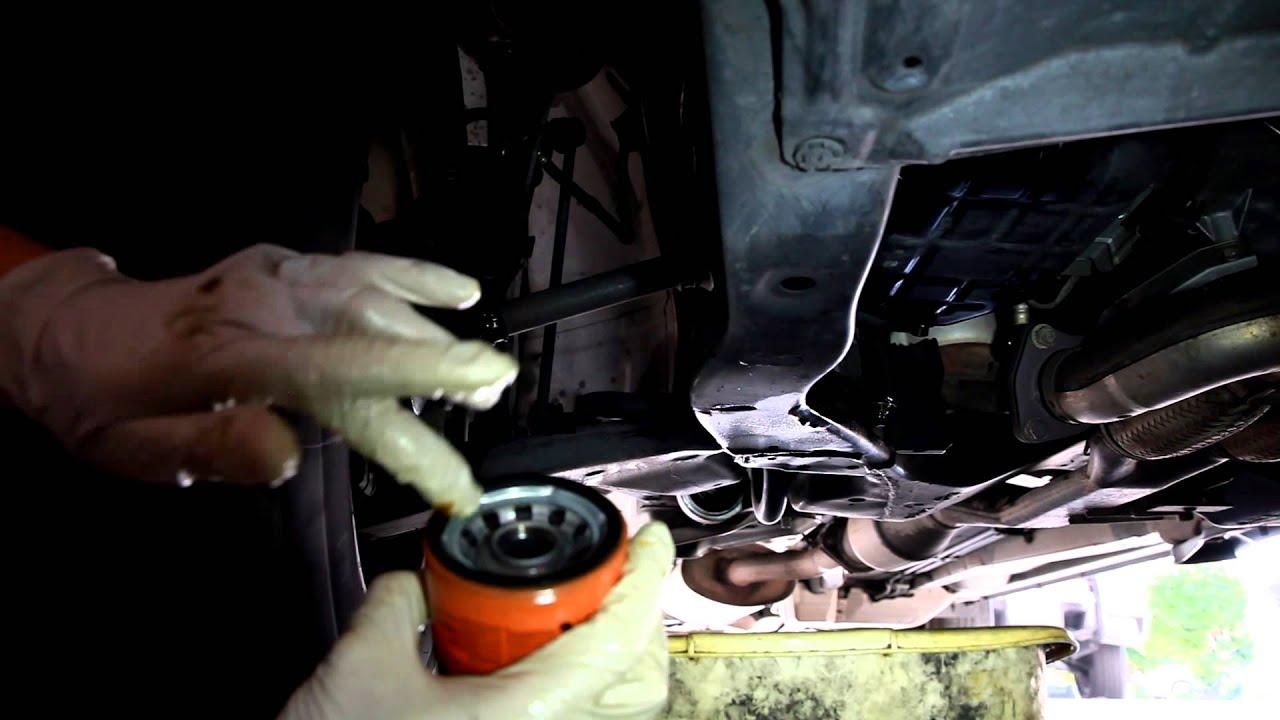2003 2007 Nissan Murano Oil Change With Maintenance Light