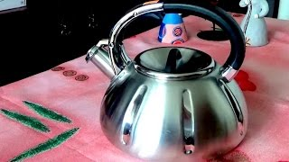 Наша новая покупка для дома. Обзор чайника из Германии  (Bekker de luxe)