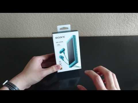 [Unboxing] Walkman Hi-Res NW-A35HN Sony