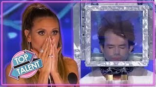 Most DANGEROUS STUNTS And ILLUSIONS On Got Talent Around The World! | Top Talent