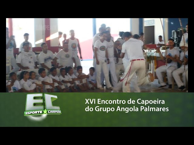 XVI Encontro de Capoeira do Grupo Angola Palmares