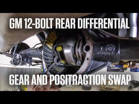 GM 12-Bolt Rear Diff UPGRADE: Positraction And Gear Swap | Hagerty DIY