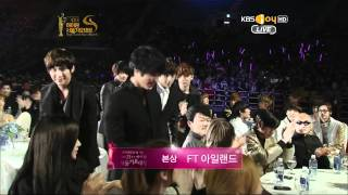 120119 KBS 21st Seoul Music Awards FT Island-Bonsang