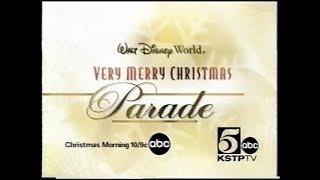 Disney's Very Merry Christmas Parade ABC Promo (2001)